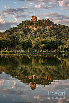 Sugarloaf Reflection Winona Art Print