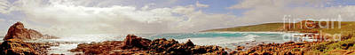 Photograph - Sugarloaf Rock Panorama I by Cassandra Buckley