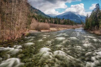 Photograph - Suiattle River Springtime by Charlie Duncan