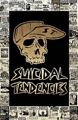 Venice Beach Mixed Media - Suicidal Tendencies 2 by Michael Bergman