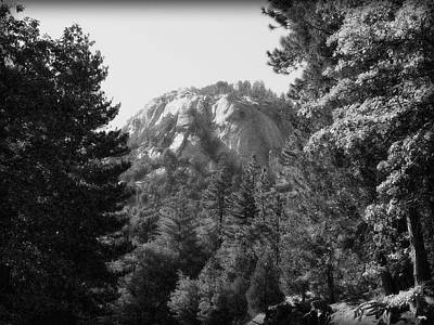Photograph - Suicide Rock In Black And White by Glenn McCarthy Art and Photography