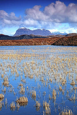 Photograph - Suilven South Side by Chris Puddephatt