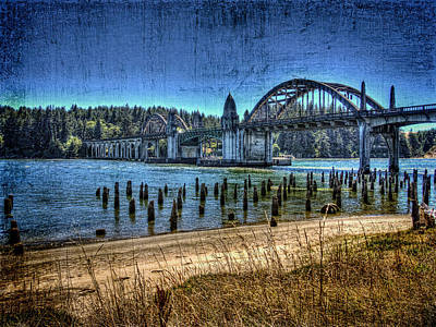 Siuslaw Bridge Print by Thom Zehrfeld
