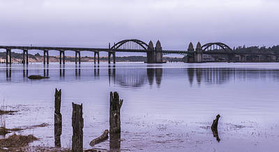 Photograph - Suislaw River Bridge by Loree Johnson