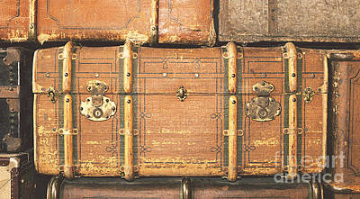 Suitcases  Art Print
