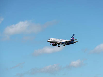 Beverly Brown Fashion Rights Managed Images - Sukhoi Superjet 100 Royalty-Free Image by Sergei Dolgov