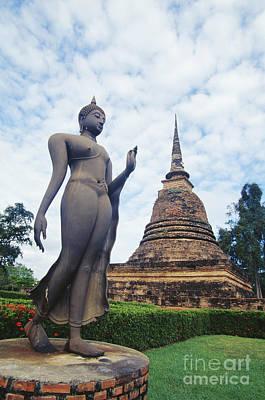 Bill Brennan Photograph - Sukhothai Historical Park by Bill Brennan - Printscapes