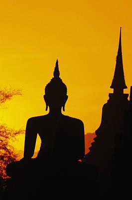 Sukhothai Temple Art Print by Gloria & Richard Maschmeyer - Printscapes