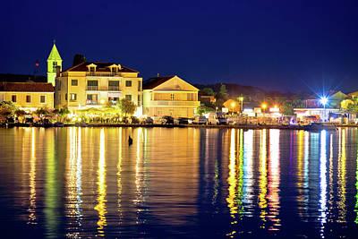 Photograph - Sukosan Adriatic Village Evening View, by Brch Photography