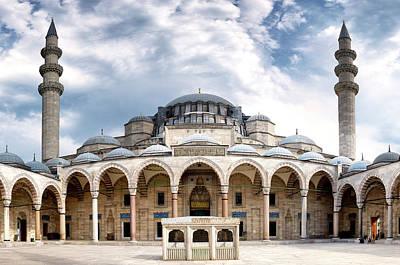 Photograph - Suleymaniye Mosque by Fabrizio Troiani