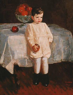 Sulky Boy Art Print by George Luks