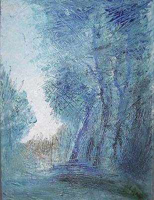 Painting - Sulle Soglie Del Bosco by Michel Croteau