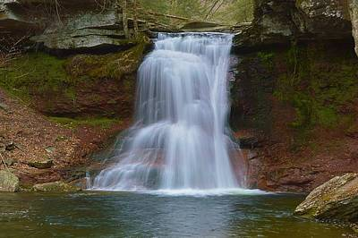 Photograph - Sullivan Falls Pennsylvania State Game Lands No.13 0485 by Joel E Blyler