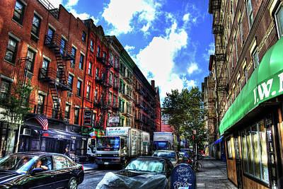 Sullivan Street In Greenwich Village Art Print by Randy Aveille