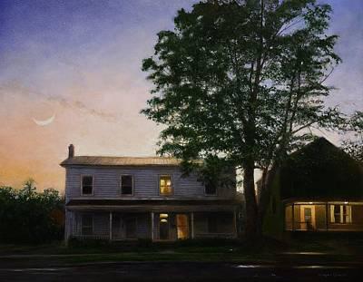 Painting - Sullivan Street by Wayne Daniels