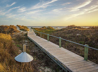 Photograph - Sullivan's Island Beach Path by Donnie Whitaker