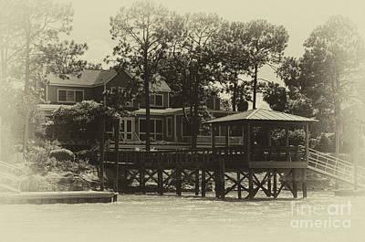 Photograph - Sullivan's Island Coastal Home by Dale Powell