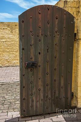 Photograph - Sullivan's Island Door by Dale Powell