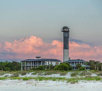 Photograph - Sullivan's Island Lighthouse by Donnie Whitaker