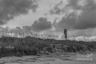 Photograph - Sullivans Island Lighthouse Sea Breeze by Dale Powell
