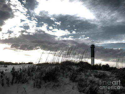 Photograph - Sullivan's Island Lightouse Monday Morning by Dale Powell
