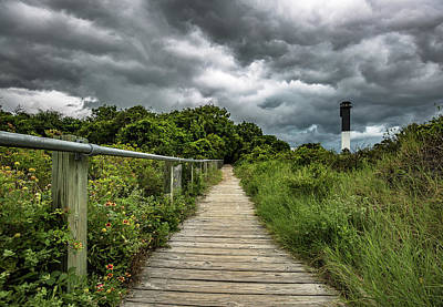Photograph - Sullivan's Island Summer Storm Clouds by Donnie Whitaker