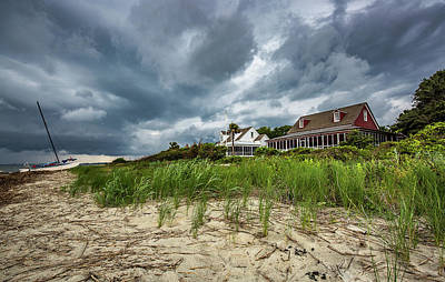 Photograph - Sullivan's Island Summer Storm  by Donnie Whitaker