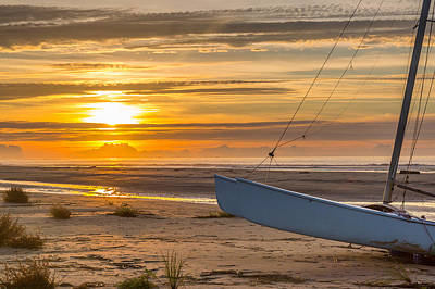 Photograph - Sullivan's Island Sunrise by Donnie Whitaker
