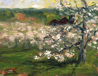 Painting - Sullivan's Orchard by Ken Fiery
