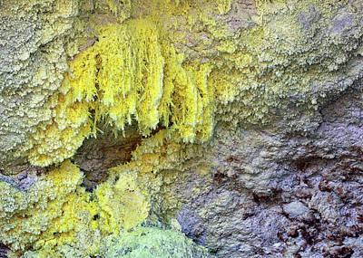 Photograph - Sulphur by Nicholas Blackwell