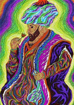 Painting - Sultan 2000 by Robert SORENSEN