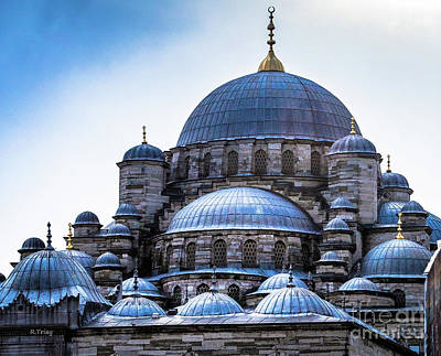 Photograph - Sultan Ahmed Mosque Blue Mosque by Rene Triay Photography