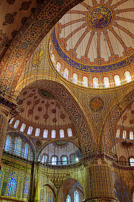 Photograph - Sultan Ahmed Mosque by Fabrizio Troiani