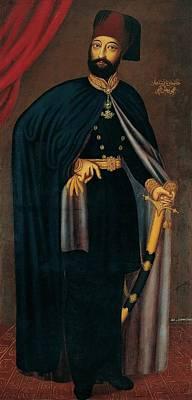 Sultan Painting - Sultan Mahmud by Athanasios