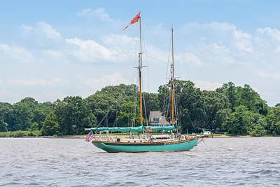 Photograph - Sultana On The Chester by Charles Kraus