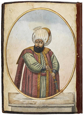 Ottoman Empire Painting - Sultans Of The Ottoman Empire by Eastern Accent