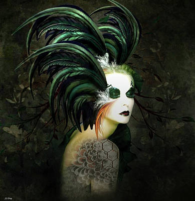 Erotica Mixed Media - Sultress by G Berry