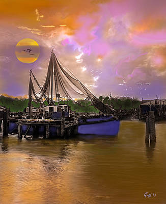 Bayou Digital Art - Sultry Bayou by J Griff Griffin