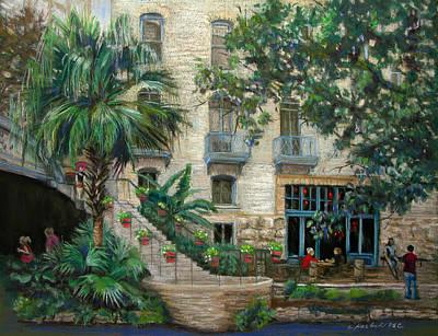 Sultry San Antonio Art Print by Carole Haslock