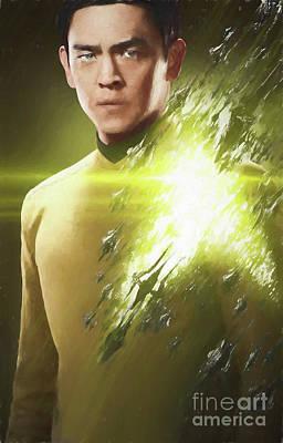 Digital Art - Sulu by Steven Parker