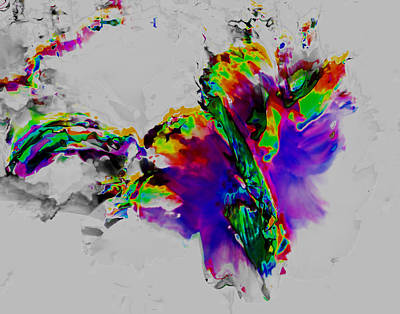 Digital Art - Sumas Begonia 1 by Max DeBeeson