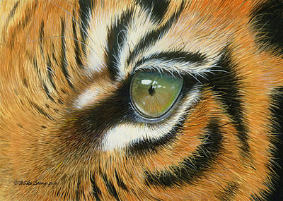 Painting - Sumatra by Mike Brown