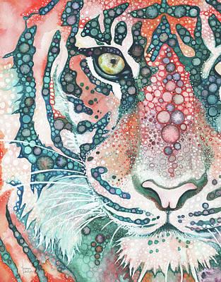 Big Cat Painting - Sumatran Tiger by Tamara Phillips