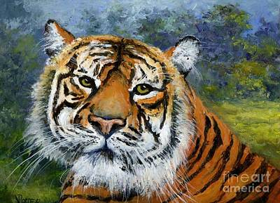 Painting - Sumatran Tiger by Virginia Potter