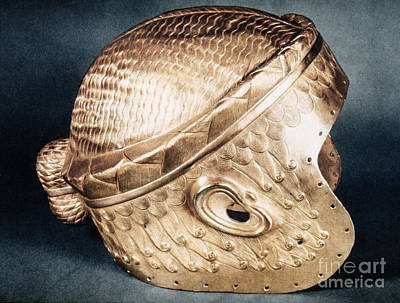 Photograph - Sumerian Gold Helmet by Granger