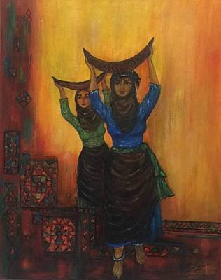 Iraq Painting - Sumerian by Siran Ajel