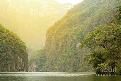 Photograph - Sumidero Canyon Mexico by Tim Hester