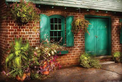 Photograph - Summer - Garden - Just Around Back by Mike Savad