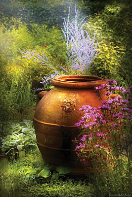 Photograph - Summer - Landscape - The Urn by Mike Savad