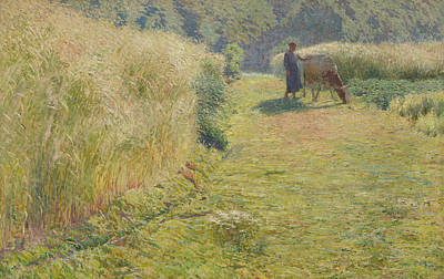 Luminism Painting - Summer, 1893 by Emile Claus